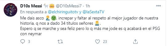increpan a messi