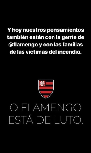 Publicación de Leo Messi en Instagram Stories / Instagram