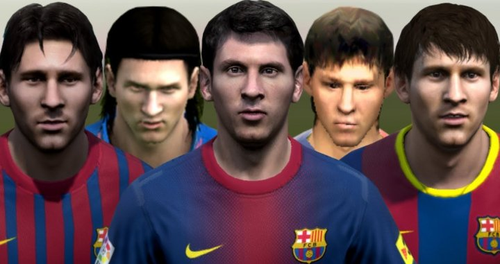 La evolución de Leo Messi en FIFA / YOUTUBE