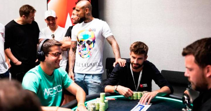 Piqué, en el European Poker Tour