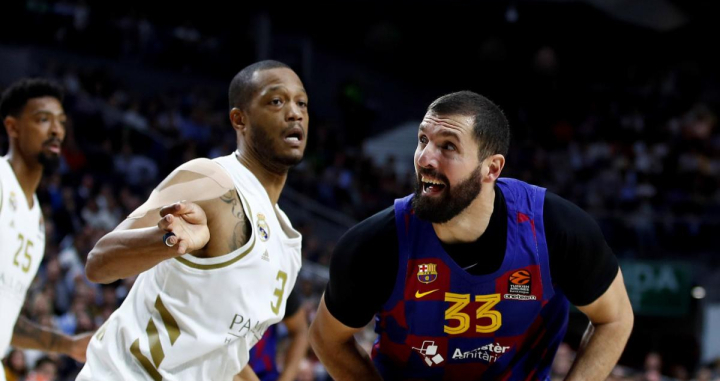 Nikola Mirotic contra el Real Madrid / EFE